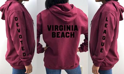 DA18-Virginia Beach Hoodie